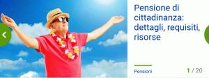 Pensione di cittadinanza i requisiti